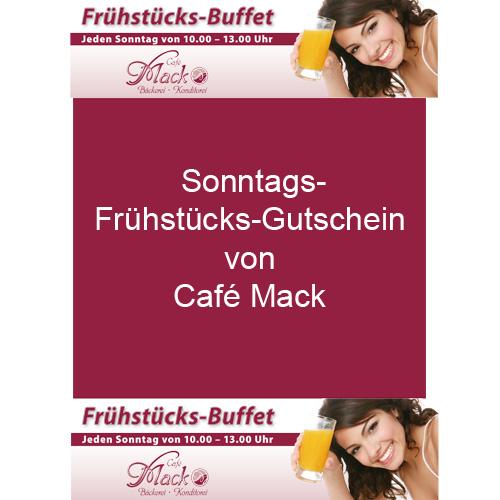 Frühstücks-Gutschein