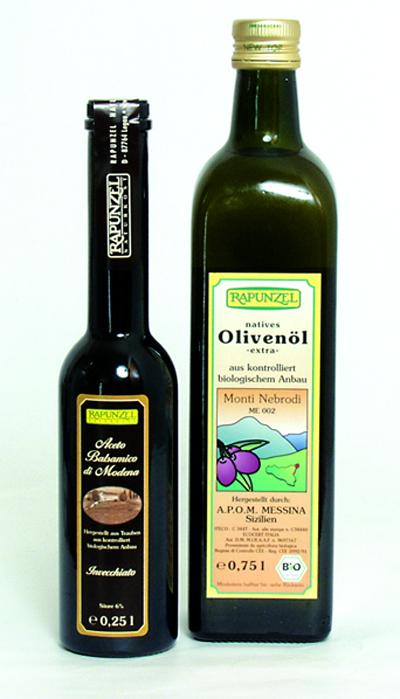 Sizil. Olivenöl + Balsamico