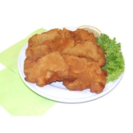 10 panierte Teller-Schnitzel